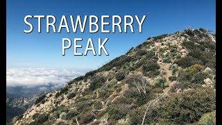 Strawberry Peak Trail in the San Gabriel Mountains
