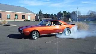 Super Charged 67 Pontiac Firebird Burnout