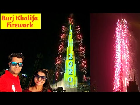 burj-khalifa-fireworks-2020-||-firework-at-world's-tallest-building