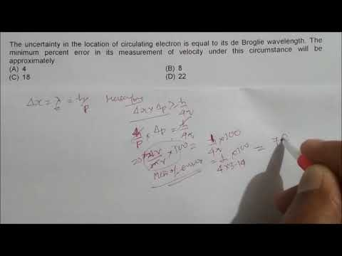 Atomic Structure-Advanced IIT JEE Problems- CHEMISTRY