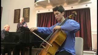 Elgar Cello Concerto in E mn Op 85 (1st mov) James Dew