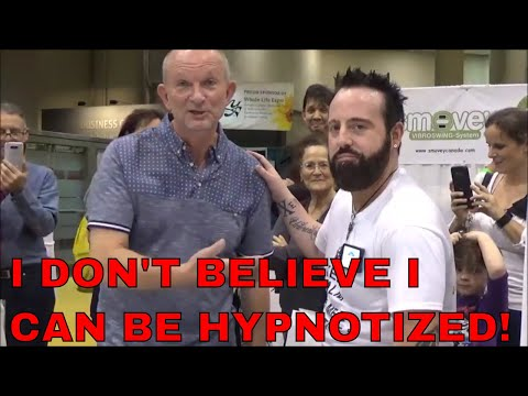 I Don't Believe I Can Be Hypnotized!