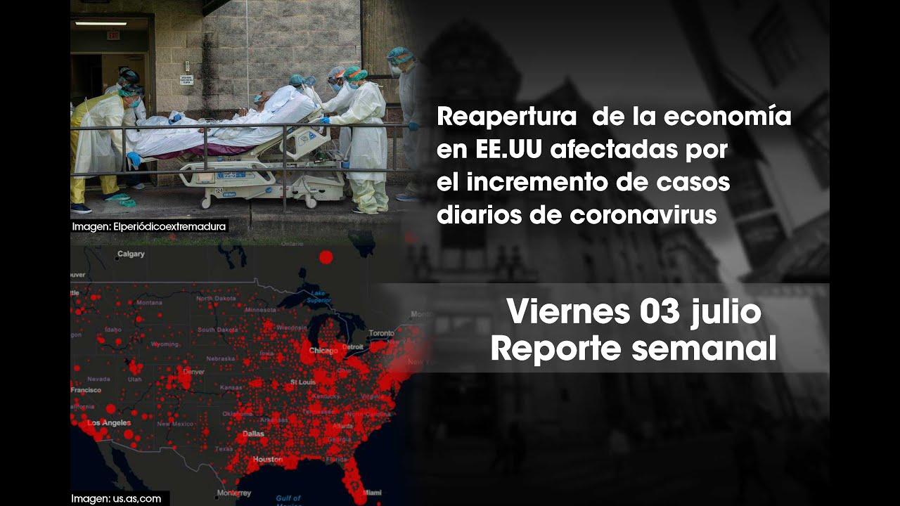 Reporte Semanal 03 julio 2020 | Bolsa de Valores de Lima