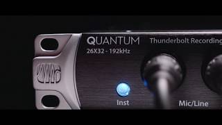 PreSonus Quantum—The Speed of Sound