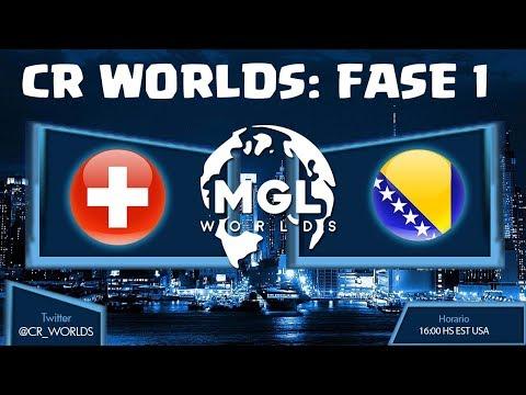 🔴 CR WORLDS: SUIZA VS BOSNIA & HERZEGOVINA - ELIMINATORIAS | TheCryEc | Clash Royale