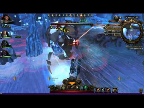 3-man kill - Icespire's Heart - Epic Dungeon - LAST BOSS - Neverwinter - GWF PoV