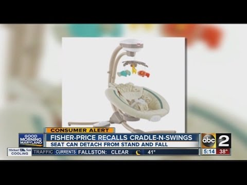 Fisher-Price Recalls Cradle-N-Swing Set