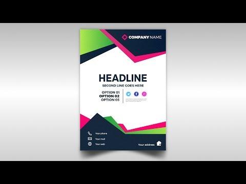 Abstract Brochure Design - Affinity Designer 1.7 thumbnail