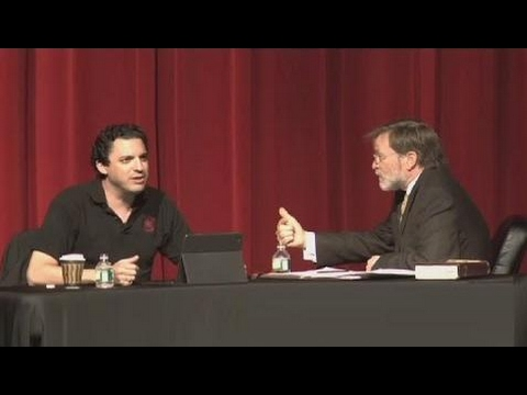#266 Debate - David Silverman vs John Rankin - Can Evolution Produce a Healthy Society - 2012