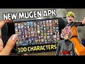 Download New Mugen Style Apk with Naruto Bijuu & Black Goku on Android