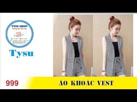 Hướng Dẫn Cắt May TysuShop Số 999: Áo Khoác Vest