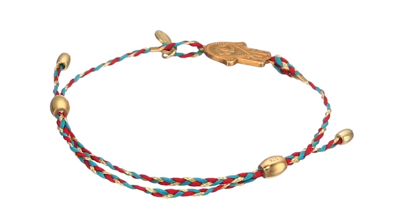 Alex And Ani Precious Thread Hand Of Fatima Bracelet Sku:8769340