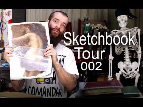 Sketchbook Tour 002. Cesar Santos
