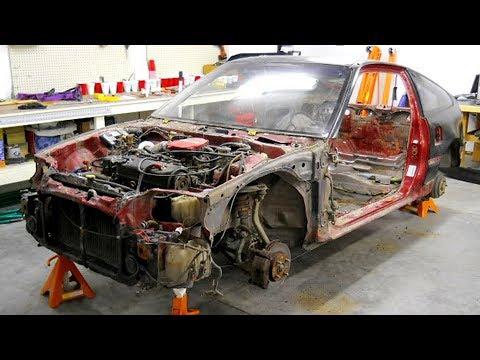 1990 Honda CRX Total Restoration to its original factory condition