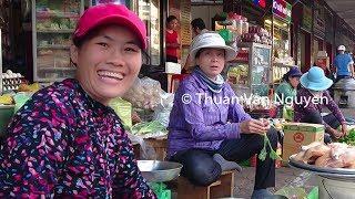 Vietnam || Buon Ma Thuot Market || Dak Lak Province