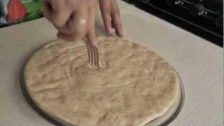 Бездрожжевой хлеб: катлама (лепешки)(Отличные бездрожжевые слоеные лепешки. Больше хороших рецептов и видео на http://vegplanet.ru/, 2011-08-18T11:33:30.000Z)