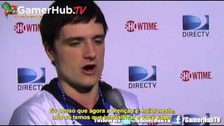 Entrevista - Josh Hutcherson sobre Em Chamas - Futebol das Celebridades