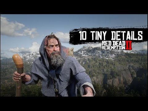 Red Dead Redemption 2 – 10 More Tiny Details You May Have Missed in Red Dead 2's Wild West