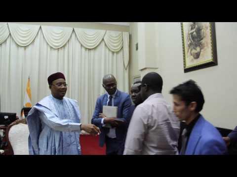 Rencontre avec le SHM Issoufou Mahamadou Président du Niger