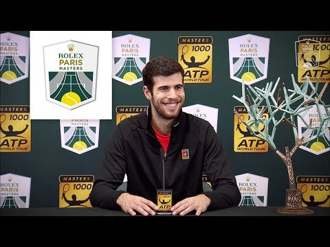 Press conference : Karen Khachanov is the champion ! | Rolex Paris Masters 2018