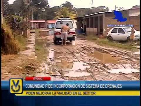 En Delta Amacuro denuncian que sus viviendas se inundan cuando llueven