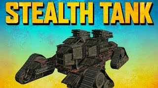 Crossout STEALTH TANK (Crossout Gameplay)