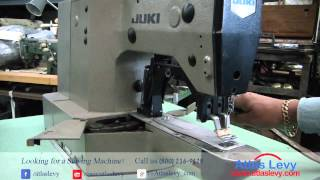 Juki LK 1852 Heavy Duty Industrial Bar Tacker Sewing Machine