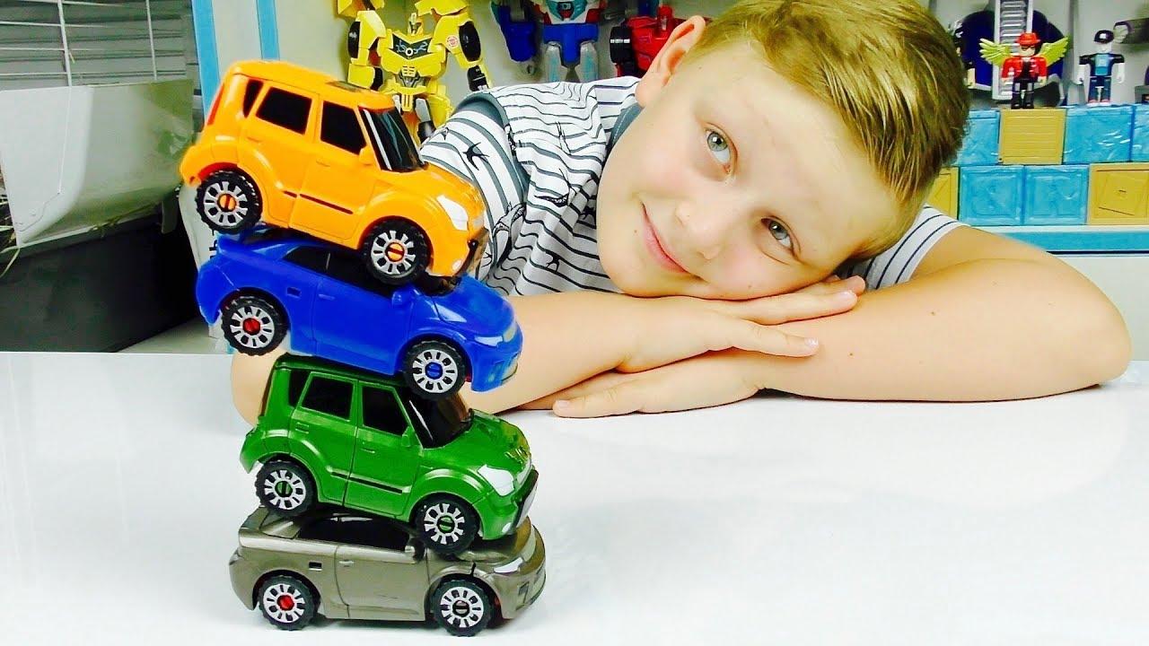 ТОБОТЫ Машинки из мультика РОБОТ Трансформер Игрушки для мальчика
