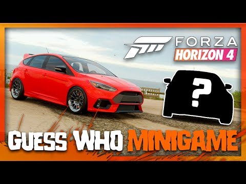 Forza Horizon 4 - Guess Who? (Mini Game) thumbnail