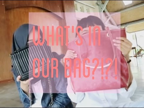 WHAT'S IN OUR BAG?! W/DEOSISTI | BAHASA INDONESIA