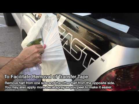 TACOMABEAST - How To Install Bed Decal