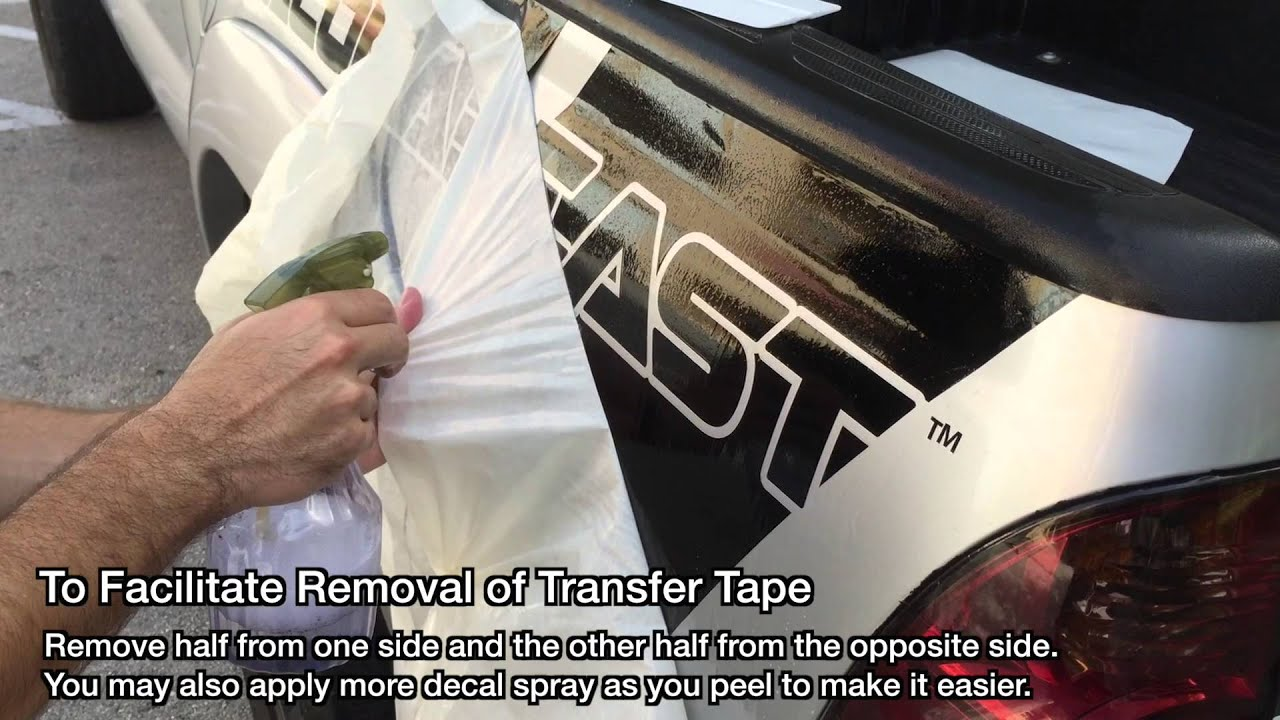 How To Install A Bed Decal On Your Toyota Tacoma Tacomabeast Youtube
