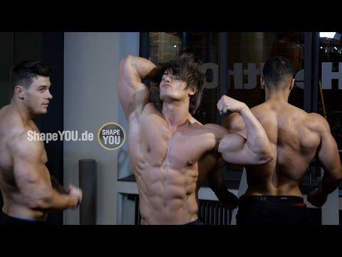 Bodybuilding Motivation by Alon Gabbay, Jeff Seid, Harrison Twins, Justin St Paul, Felix Valentino