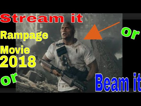 Stream it or Beam it  Rampage the Movie...