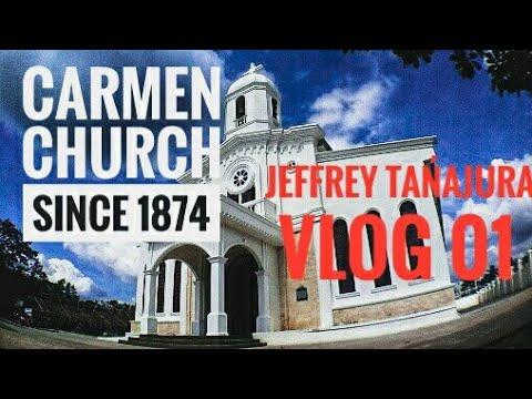 historical landmark in carmen bohol, Philippines. (carmen church)