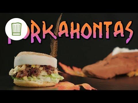 Pulled Pork Burger mit Popcorn - Porkahontas Movie-Burger | Chefkoch.de