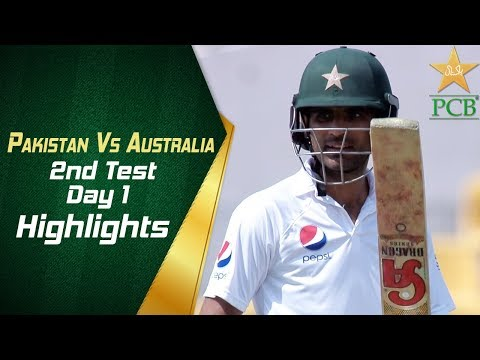 Pakistan Vs Australia | Highlights | 2nd Test Day 1 | PCB
