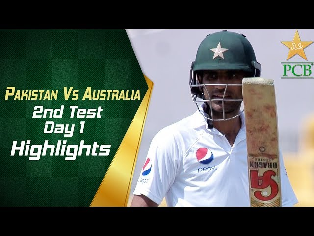 Pakistan Vs Australia | Highlights | 2nd Test Day 1 | PCB