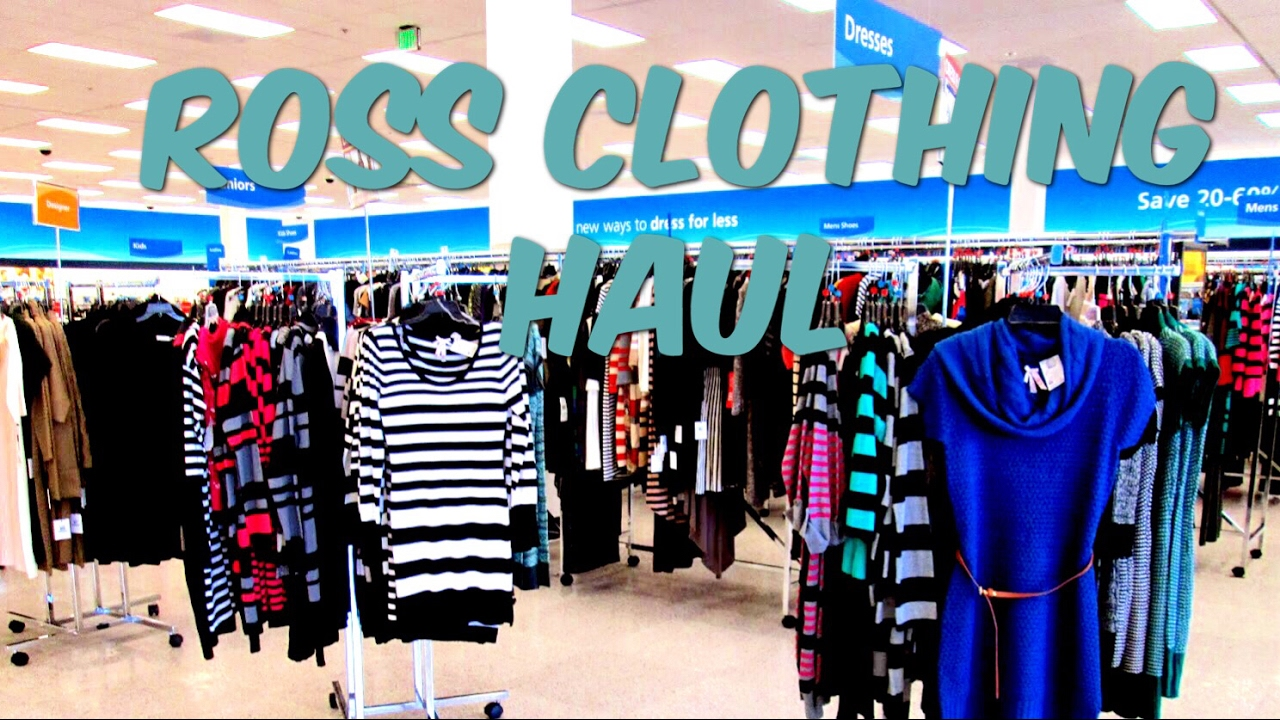 25cc3e28f42bd ROSS MOSTLY CLOTHING HAUL - YouTube
