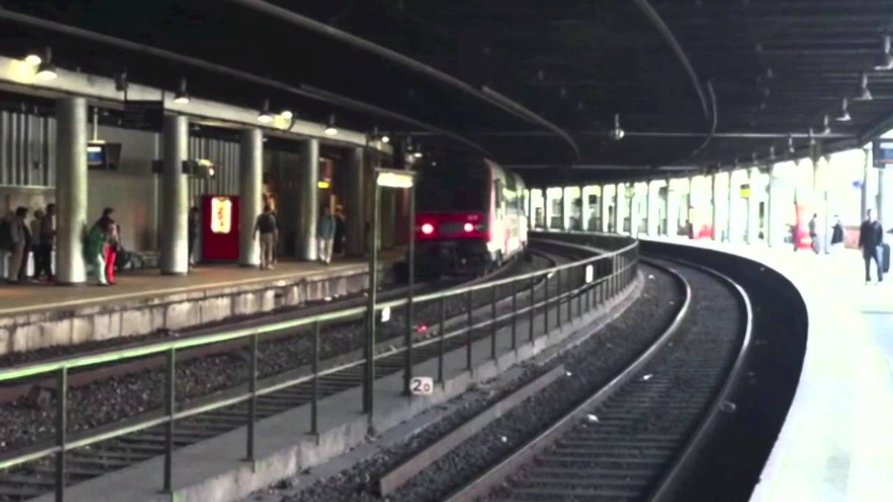 Metro Paris Rer C Arrivals At Champ De Mars Tour Eiffel