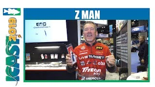 Z Man Chatterbait Freedom CFL with Stephen Browning | iCast 2019