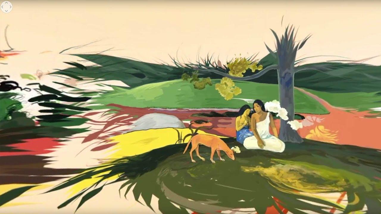 Le Voyage Intérieur de Gauguin en 360° - YouTube