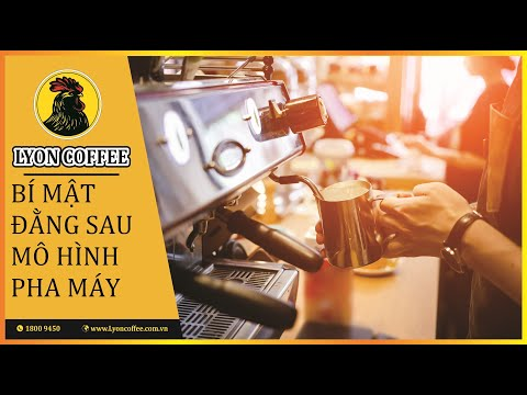 Bật mí những bí mật đằng sau mô hình cafe pha máy để khởi nghiệp