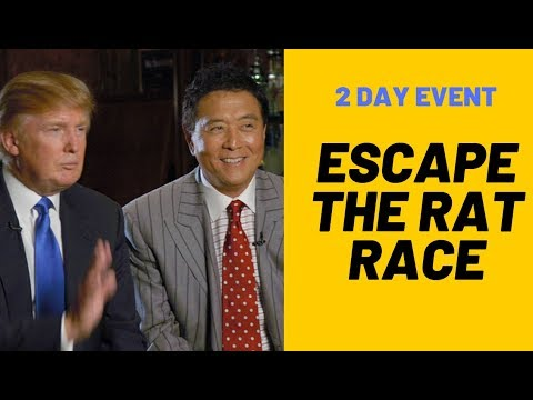 7 Ways To Escape The Rat Race & Robert Kiyosaki