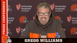 Gregg Williams: One of the positives from yesterday was the offense | Cleveland Browns