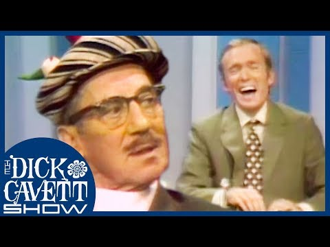 Groucho Marx Leaves Dick In Stiches During Hilarious Interview | The Dick Cavett Show