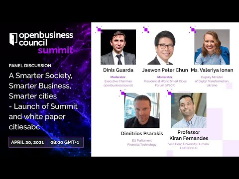 openbusinesscouncil summit & awards Opening Panel: Smarter Society, Smarter Business, Smarter cities