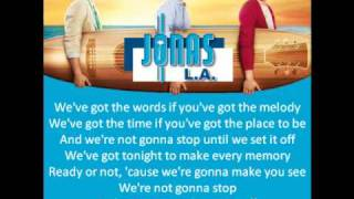 [2.71 MB] Jonas Brothers - Set This Party Off (Lyrics)