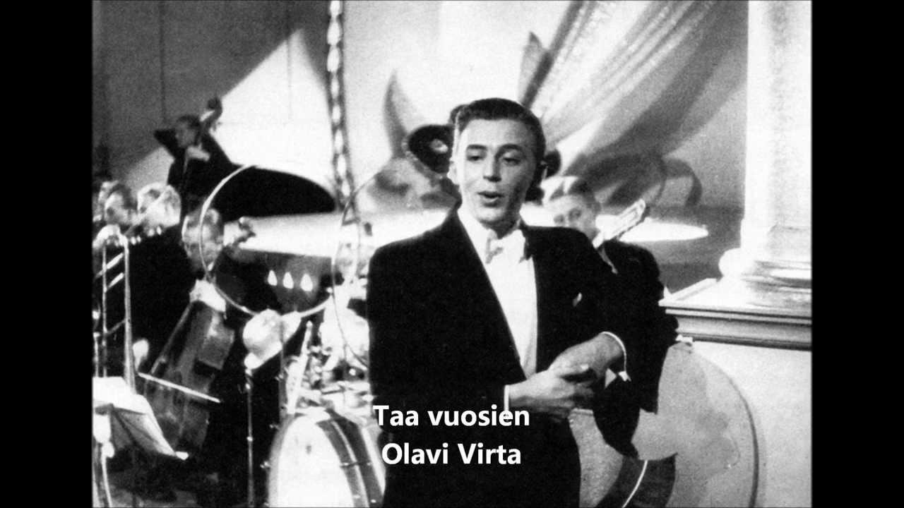 Olavi Virta Nuorena