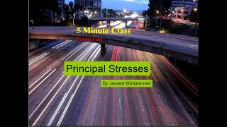 what is principal stress